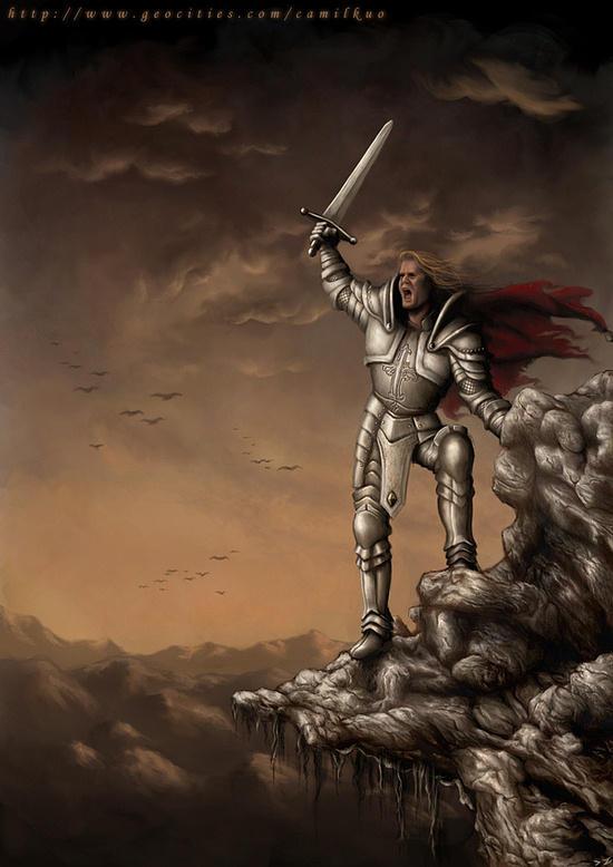 Crusader Path by camilkuo