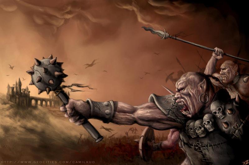 Invasion of Dark Kingdom by camilkuo