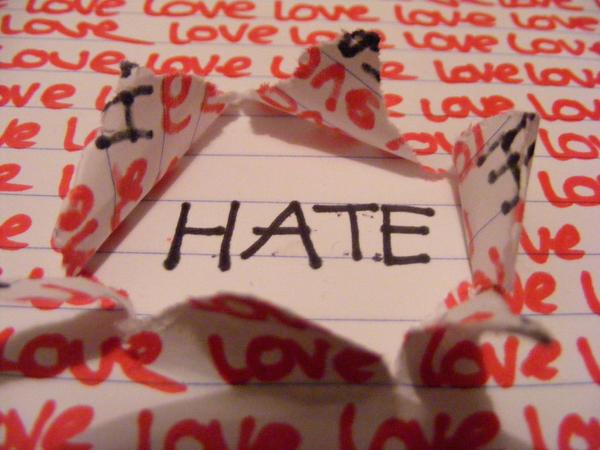 Hate. by Lauren-vs-Hero