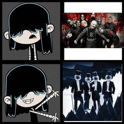 Lucy likes the Residents, but not Slipknot by chanyhuman