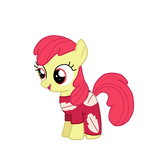 Applebloom as Lilo by chanyhuman