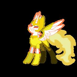 Tia Daybreaker as Yellow Diamond by chanyhuman
