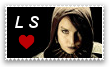 Lisbeth Salander Stamp by Zivichi