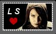 Lisbeth Salander Stamp by Zivichi