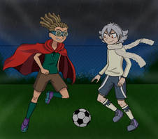 Request: Football match by Zivichi