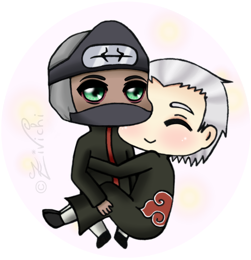 Chibi hug by Zivichi on DeviantArt