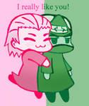 Hug again