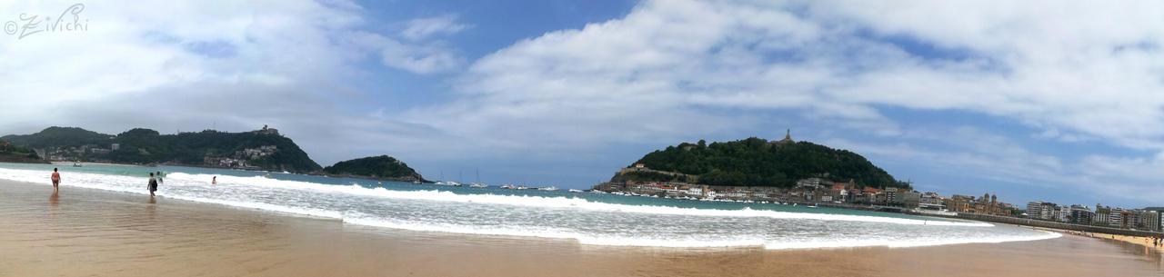 Beach of San Sebastian by Zivichi