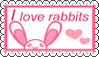 Stamp Rabbit Lover by Zivichi