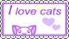 Stamp Cat Lover by Zivichi