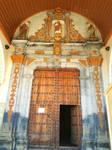 A door of a church