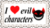 Evil Characters Fan Stamp by Zivichi