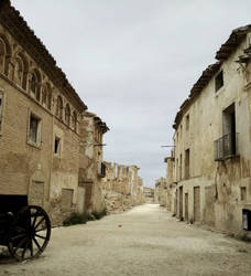 Abandoned houses in Belchite by Zivichi