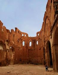 A church in ruins by Zivichi