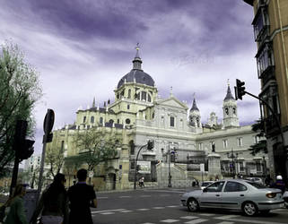 Views of Almudena Cathedral by Zivichi