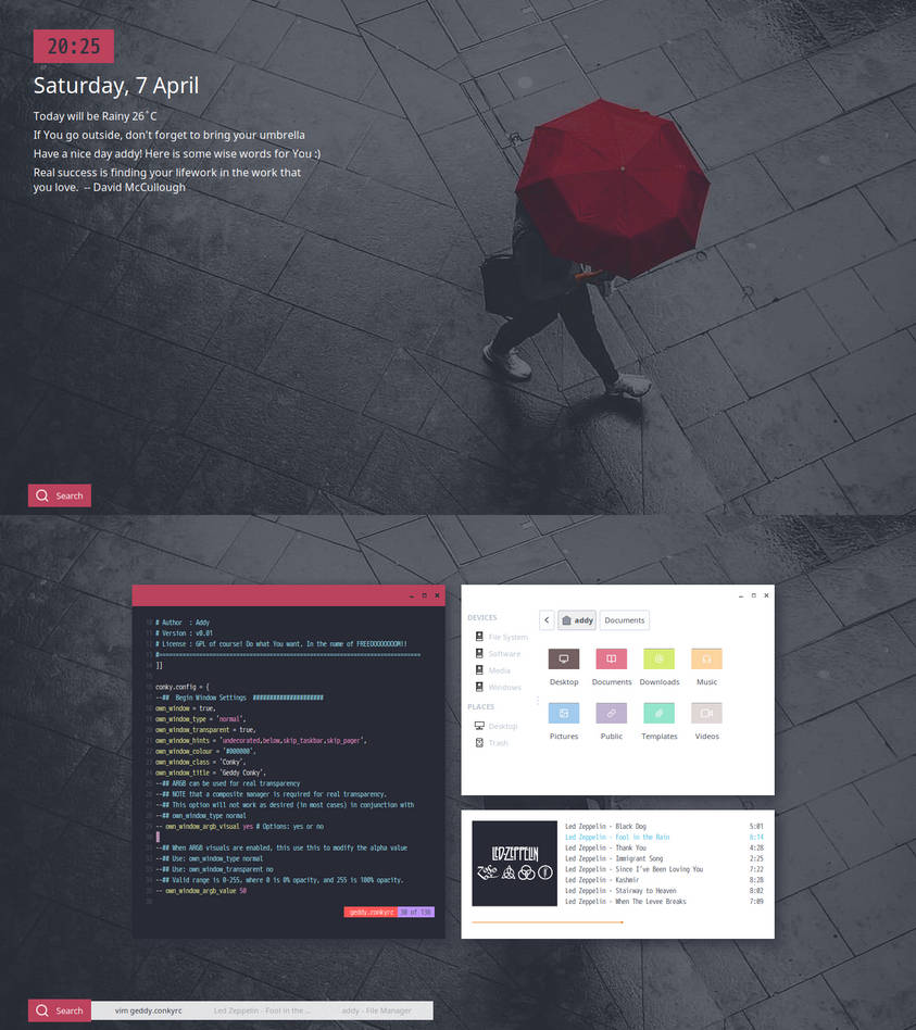 Openbox] Fool in the Rain by addy-dclxvi on DeviantArt