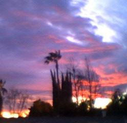 Windy Sunset by Invader-Tech