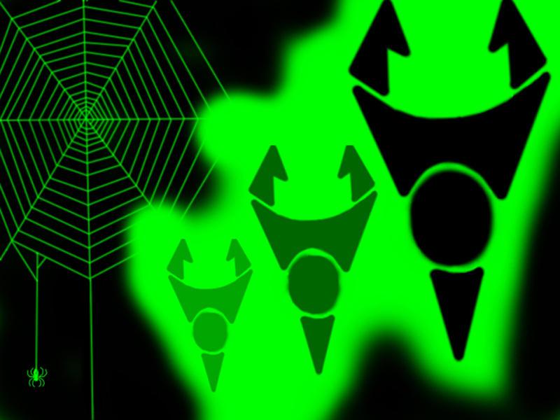 Invader's Webs by Invader-Tech