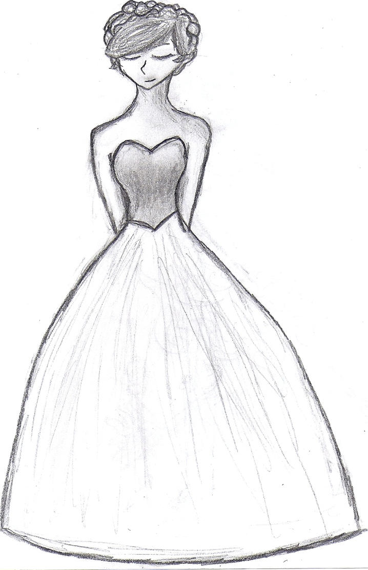 ball gown dress drawings - photo #6