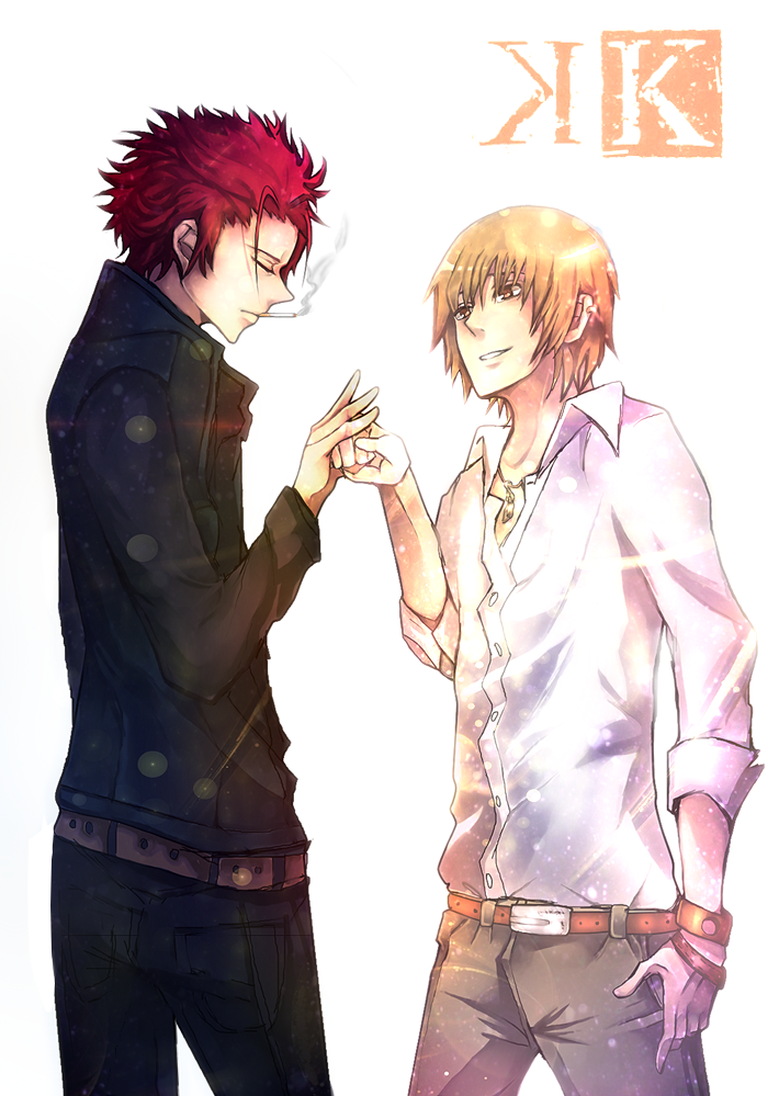 Totsuka and Mikoto by Dessa-nya