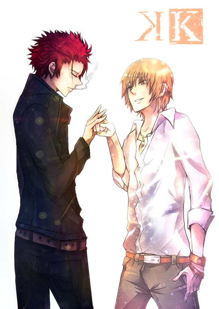 Totsuka and Mikoto by Dessa-nya