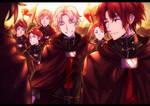 Owari no Seraph: Crowley and Victor