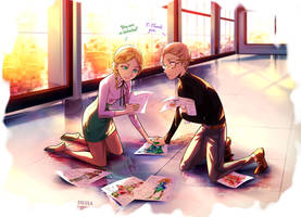 Miraculous Ladybug: Gabriel and Adrien's mother.