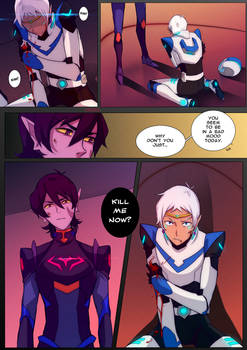 VLD: Keith and Lance Enemies!AU