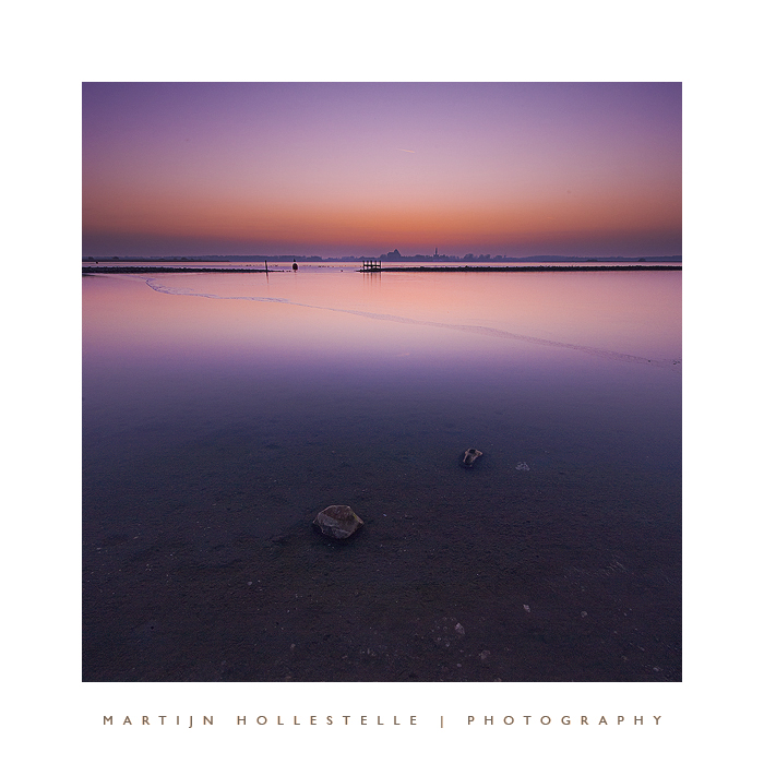 Twilight over Veerse Meer by Svision