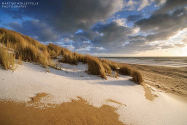 Dunes and Snow