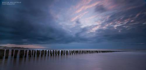 Last Light over the North Sea