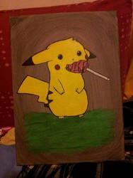 Pikachu by braalie