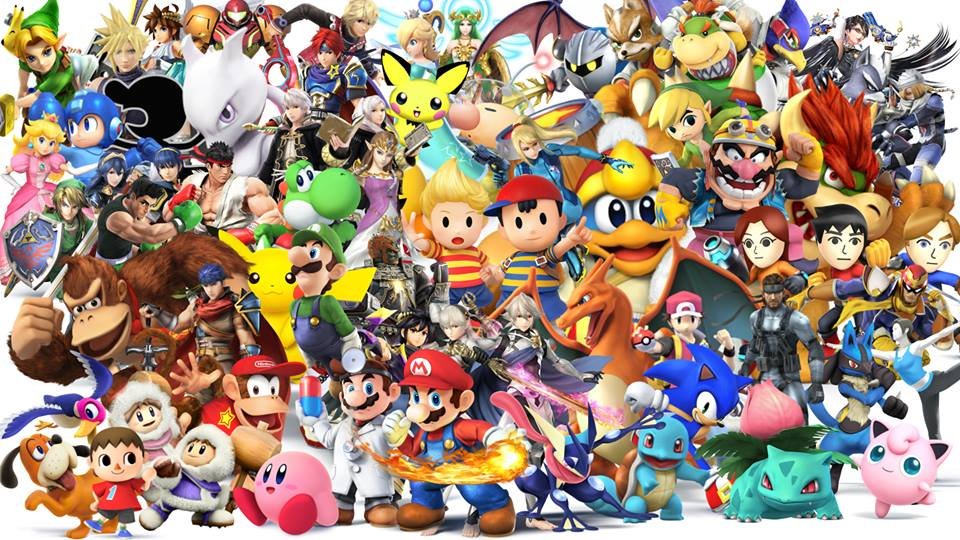 Super Smash Bros Series All Characters By Alexeverest On