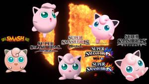 Super Smash Bros Ultimate Evolution of Jigglypuff
