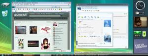 My Vista-like Desktop