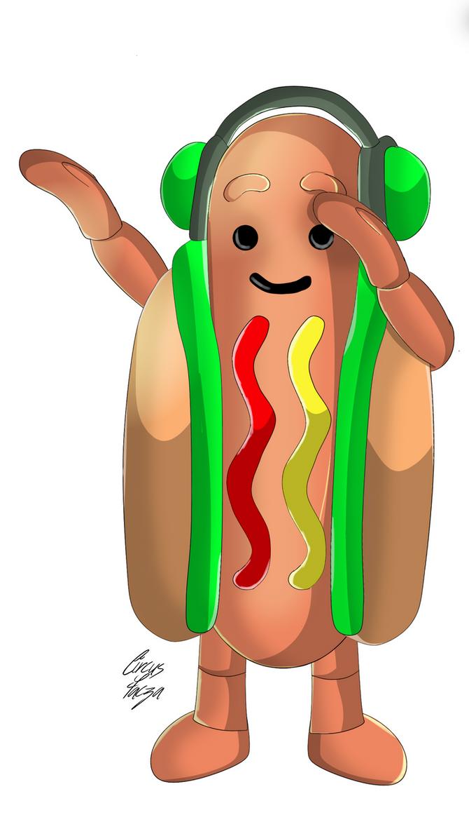 Hot Dog Filter Wallpaper
