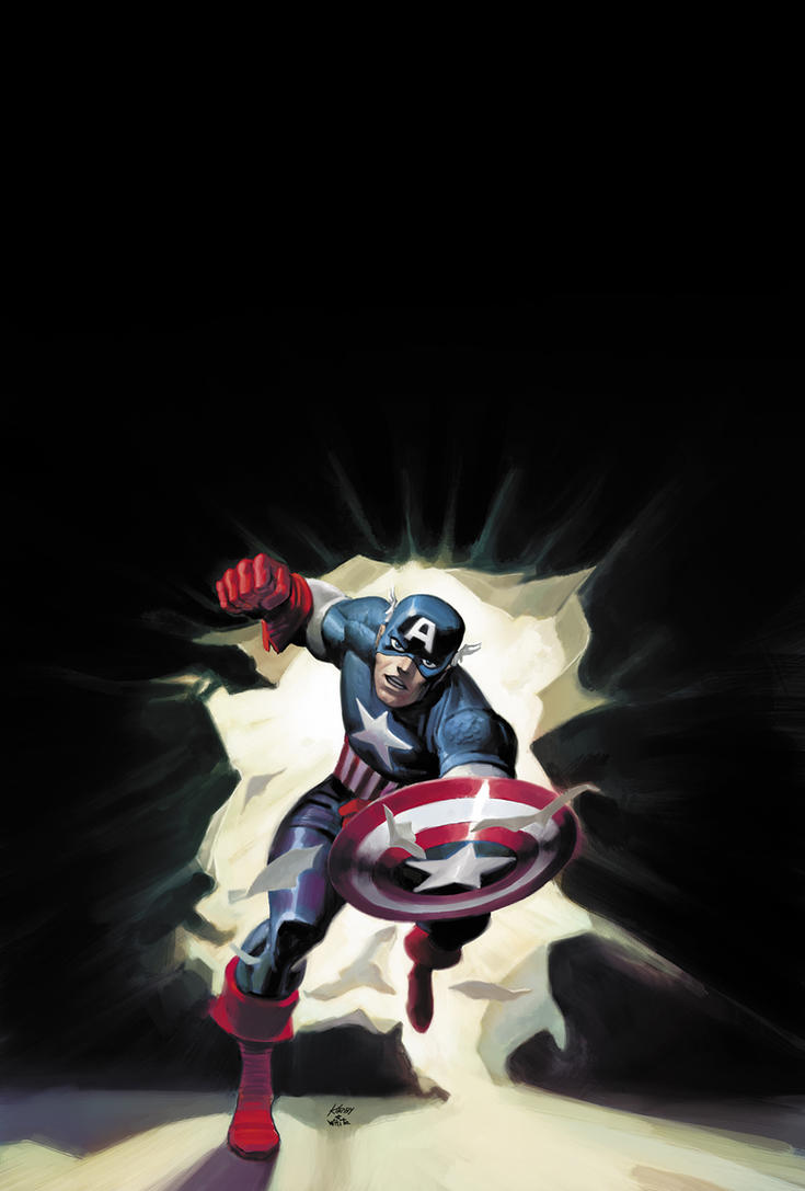 Marvel MasterWorks CAP by DeanWhite