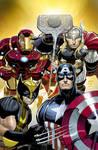 Avengers vol4 1 cover