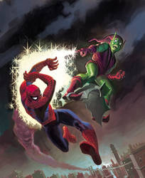 Marvel MasterWorks Spiderman 7 by DeanWhite