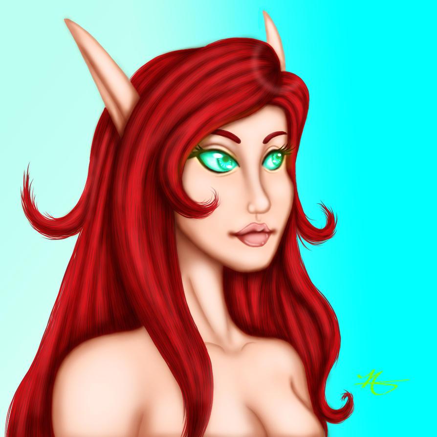 Commission: Iria by Tanadia
