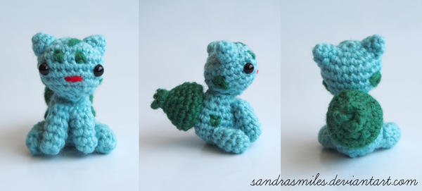 Bulbasaur by sandrasmiles