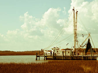 Folly Fishing Boat