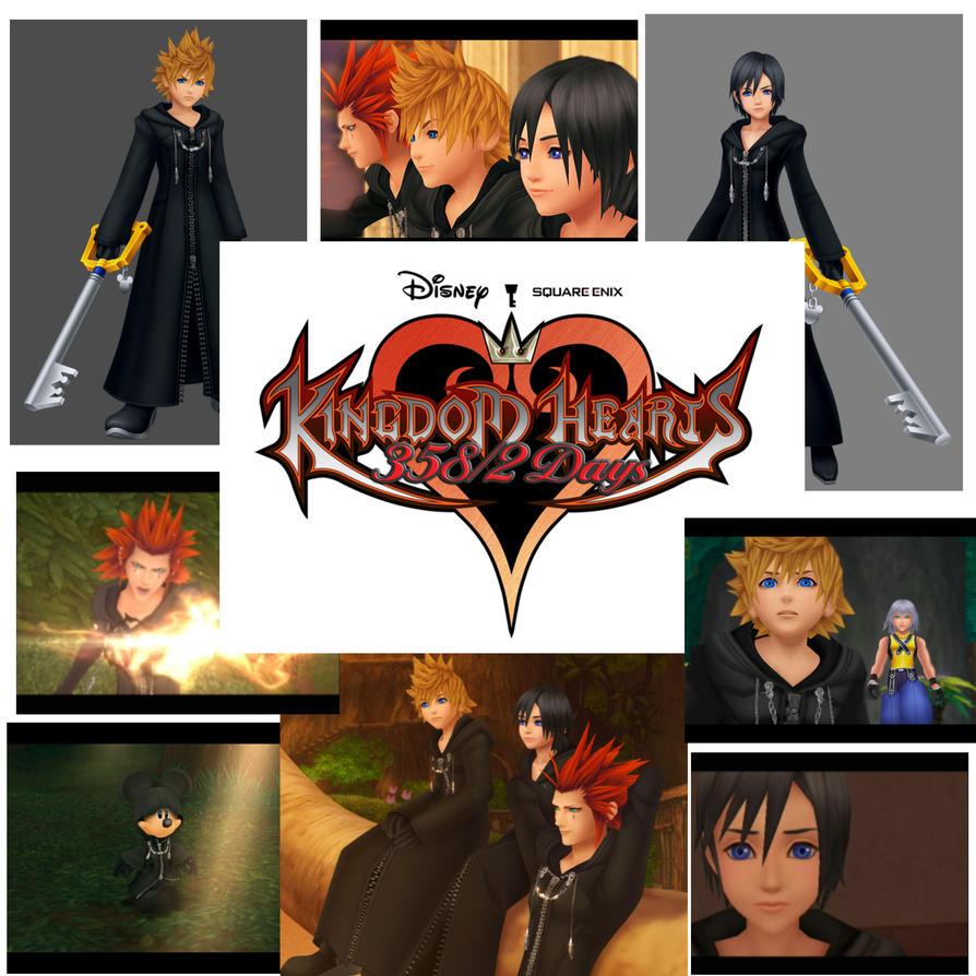Tujisaki Kingdom Hearts 358 2 Days Kingdom Hearts Ii: Kingdom Hearts 358 2 Days By ZetaAdele On DeviantART
