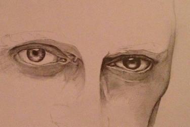Steve Buscemi's eyes - unfinished by burcuzun