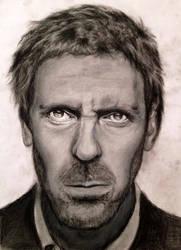 Hugh Laurie / House M.D by burcuzun