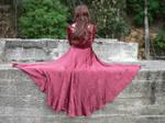 Eli Red Dress Godess 7