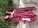 Eli Red Dress Godess 11
