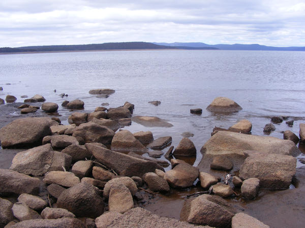 Close Up Rocks n Water 4 by Gracies-Stock
