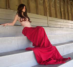 Eli In Red - Godess - 02 by Gracies-Stock