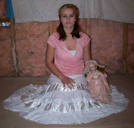 Doll In Pink Dress 01